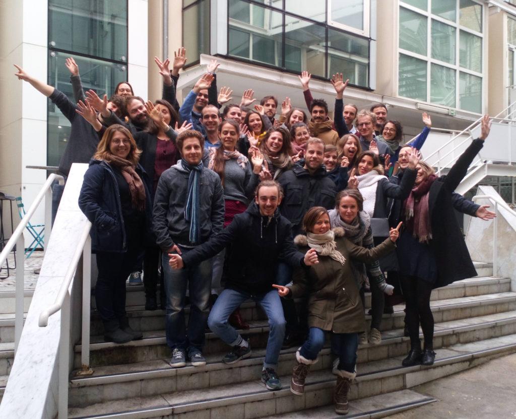 Les bénévoles de Zero Waste Paris présents à l'AG 2019.