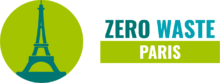 Logo de Zero Waste Paris, version horizontale.