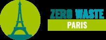 Logo de Zero Waste Paris, version horizontale.